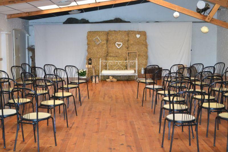 Mariage à la campagne dans la Salle Soleil