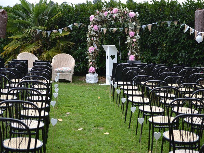 mariage en extérieur au gîte