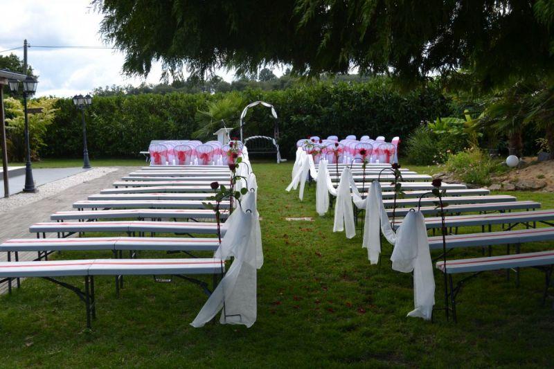 Célébration de mariage en extérieur